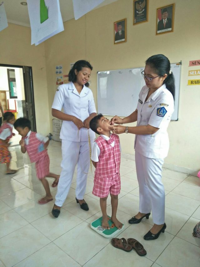 DDTKA examination (early detection of Growing Flower child)